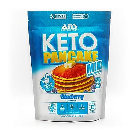ANS Performance KETO mezcla de panqueques y gofres (16 ...
