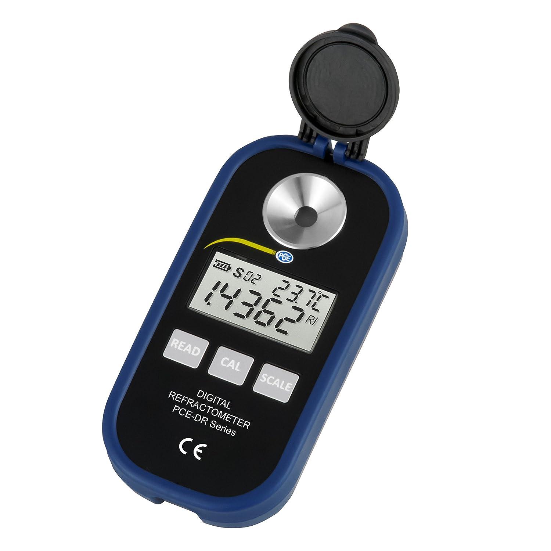 Refractómetro digital portátil para medir azúcar / Rango de medición: 0...90 % Brix