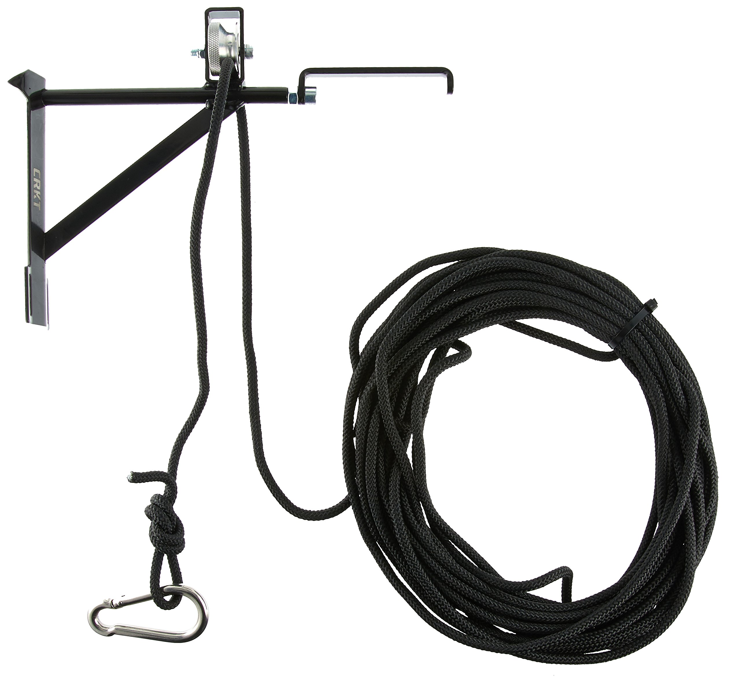 CRKT Hoist'N Lok Tree Stand Hoist Hunting Gear Hoist, Pulley and Extension Arm, Secure Cam Lock, Tree Strap and Rope HOIST2