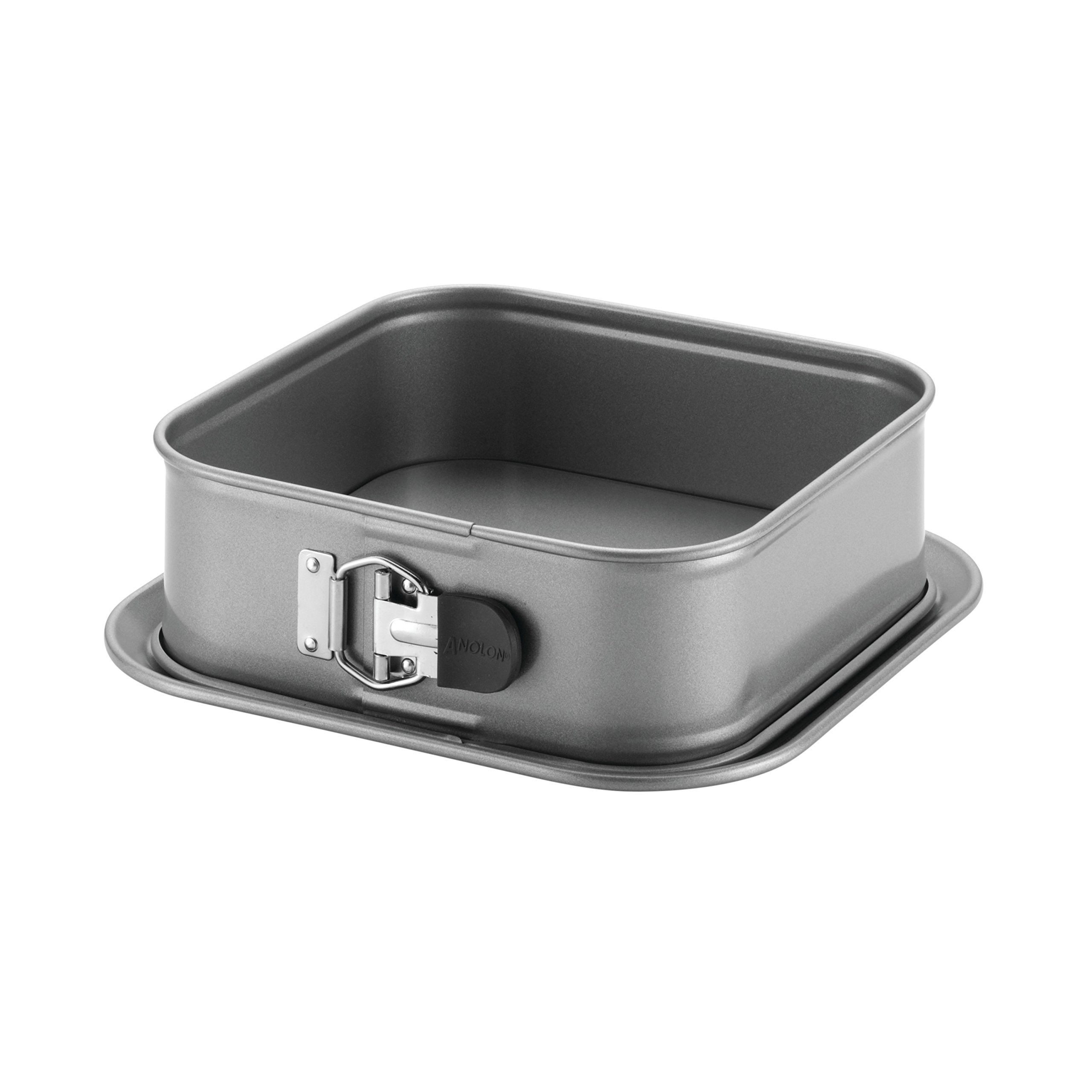 Anolon Advanced Nonstick Bakeware 9-Inch Square Springform Dessert Pan