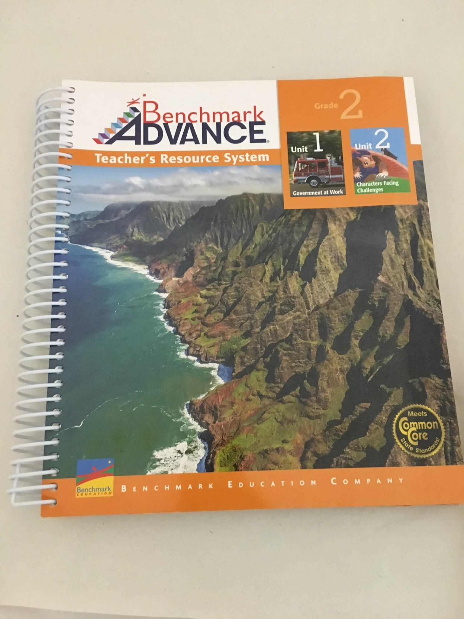 Download Benchmark Advance Teacher's Resource System Unit 1 Government at Work, Unit 2 Characters Facing Challenges (Grade 2) ISBN-10: 1512522945 ISBN-13: 9781512522945 pdf epub