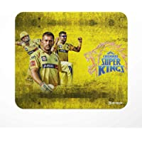 Jbn Dhoni - CSK : Designer Mouse Pad | Premium Gaming Mousepad | Anti-Slip Rubber Base | Designer Mouse Pad | Anti Skid Technology Mouse Pad for Laptops and Computers | Pack of 1