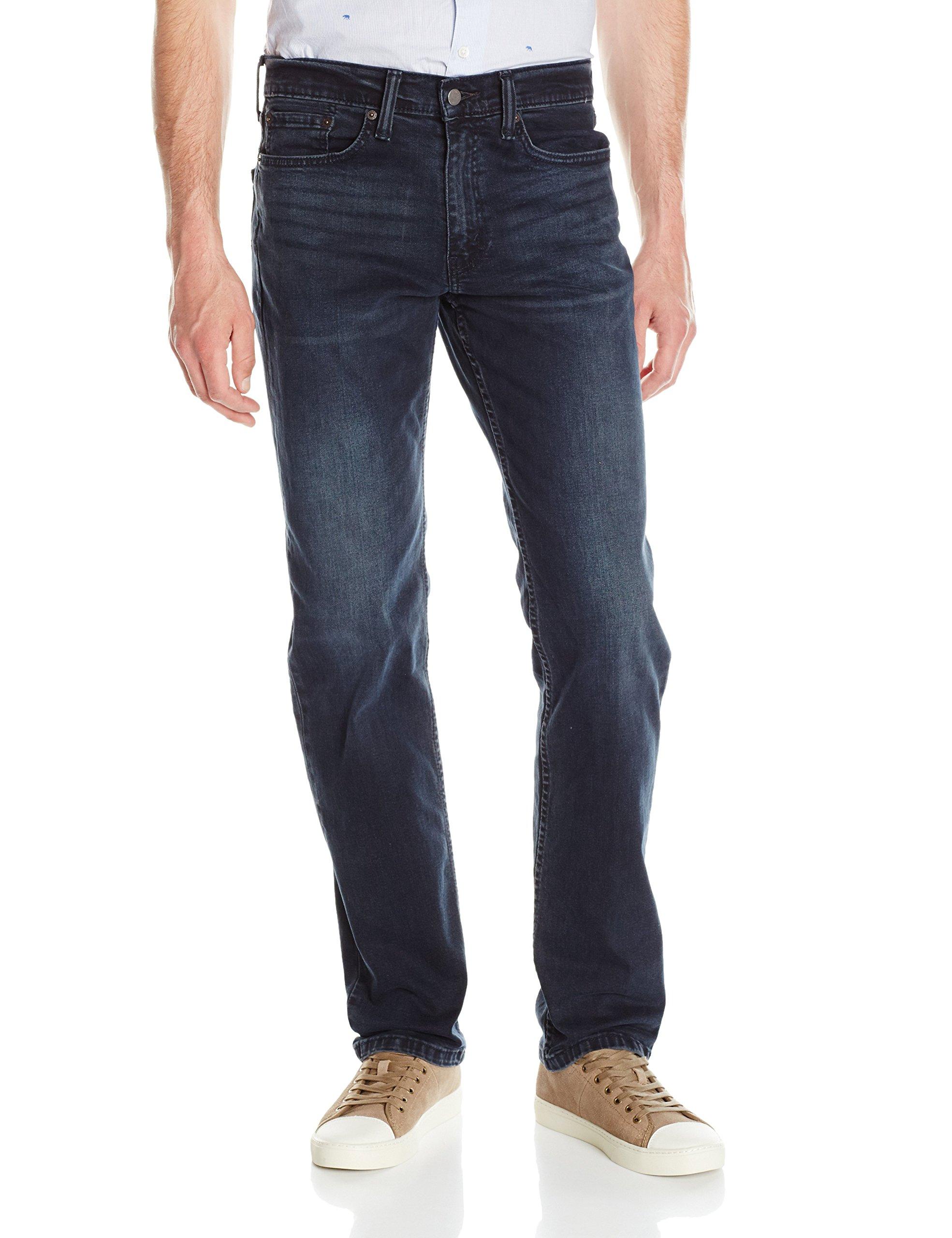 Levi's Men's 514 Straight Fit Stretch Jeans - 36W x 32L - Ship Yard