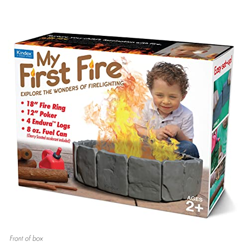 """Prank Pack """"My First Fire"""" - Wrap Your Real Gift in a Funny Joke Gift Box - by Prank-O by Prank Pack"""
