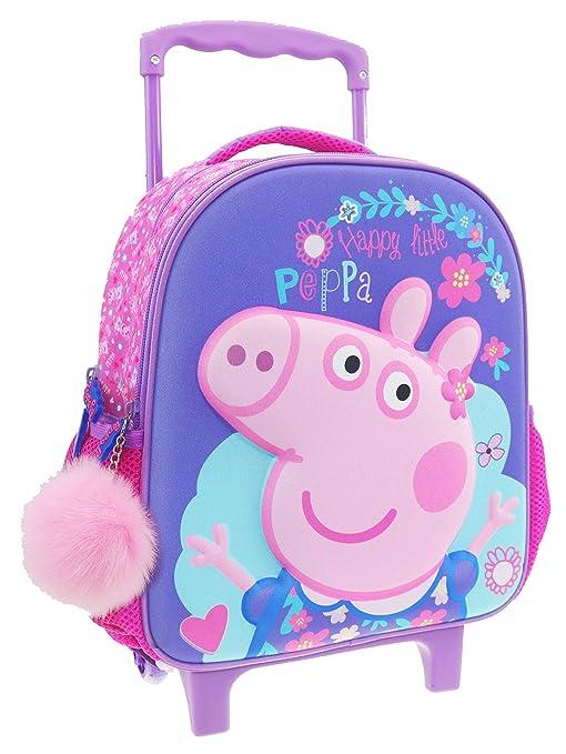 FACTORYCR Trolley 3D Peppa Pig 27x13x31 cms, 482426
