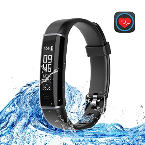 Basecamp Fitness Tracker HR, Smart Band Activity Tracker Watch with Heart Rate Monitor Sleep Monitor