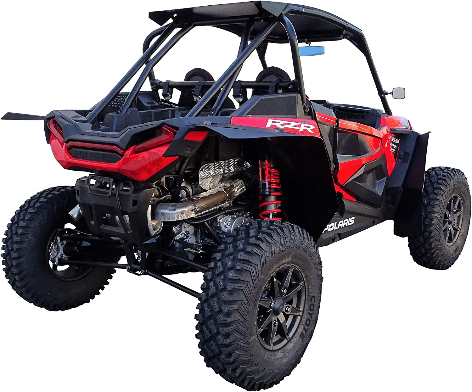 Front /& Rear Full Set MudBusters MAX Coverage Fender Flares for Polaris RZR XP Turbo S