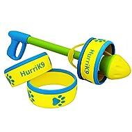 HurriK9 Dog Ring Launcher, Starter Pack Launcher + 3 Standard Rings