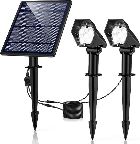 Luces Solares para Exterior, Ultra Potente Lámparas Solares ...