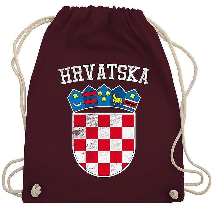 Fussball Europameisterschaft 2020 Kroatien Wappen Wm Turnbeutel Gym Bag