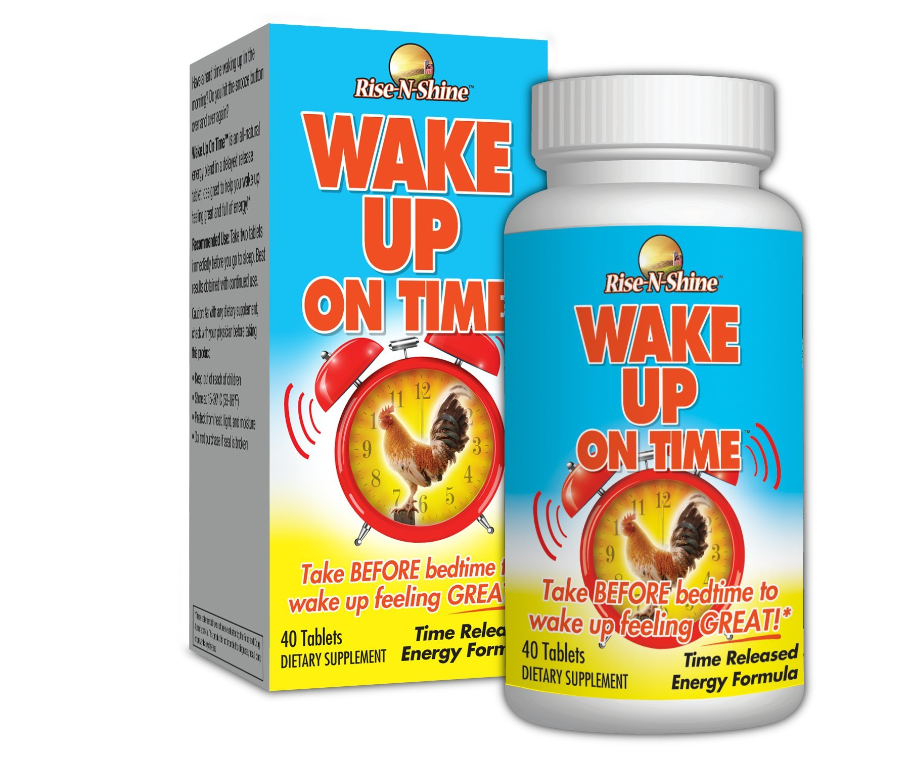 Amazon.com: Rise-N-Shine Wake Up On Time - Time Release Energy ...