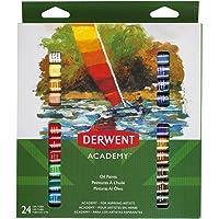 Derwent Academy - Pinturas acrílicas (24 unidades), Color al óleo