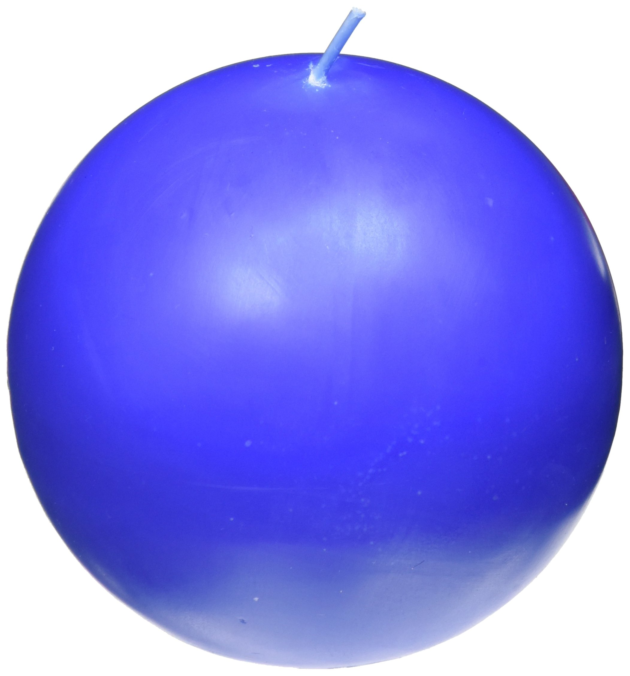 Zest Candle 2-Piece Ball Candles, 4-Inch, Blue by Zest Candle