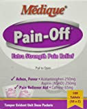 1518646 PT# 228-33 Pain-Off Apap Aspirin Caf Tablet 250mg/ 250mg/ 65mg 2s 50x2/Bx Made by Medique Pharmaceuticals