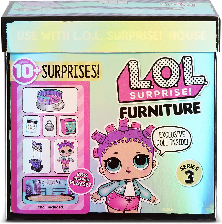 L.O.L Surprises Surprise Series 3 Furniture Box Exclusive Doll /& 10
