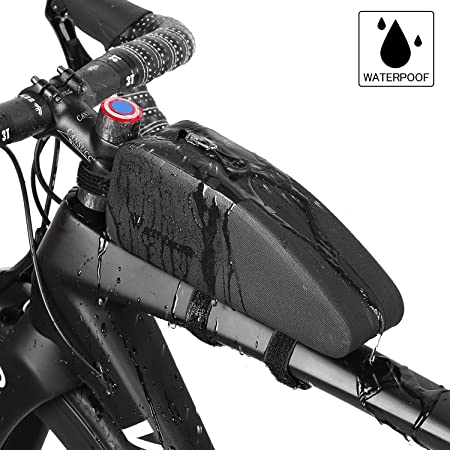 Amazon.com: Tubo superior triangular para bicicleta, bolsa ...