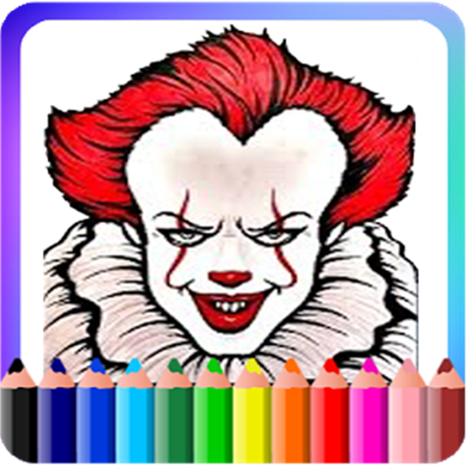 Amazon.com: coloring apps: How To Color Pennywise IT (pennywise ...