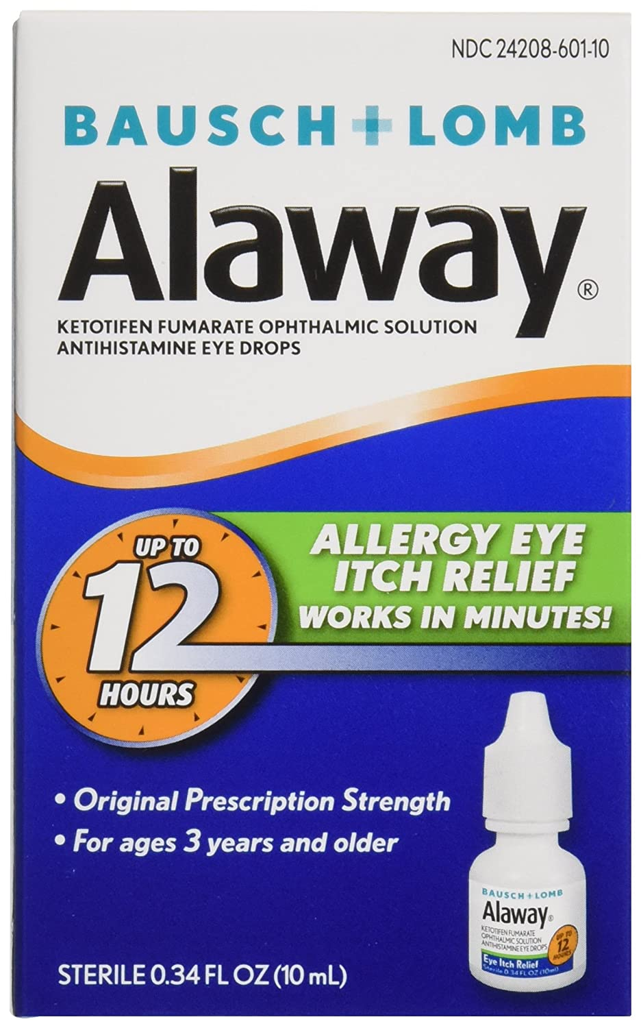 Amazon Bausch Lomb Alaway Eye Itch Relief 034 Ounce Health