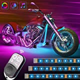 Govee RGB Motorcycle Led Lights Kits with Remote, Music Activated, Color Changing, Dimmable