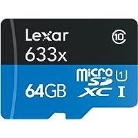 Lexar LSDMI64GBBEU633A Scheda di Memoria MicroSDXC da 64 GB