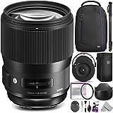 Sigma 135mm f/1.8 DG HSM Art Lens for NIKON F Cameras w/ Sigma USB Dock & Advanced Photo and Travel Bundle