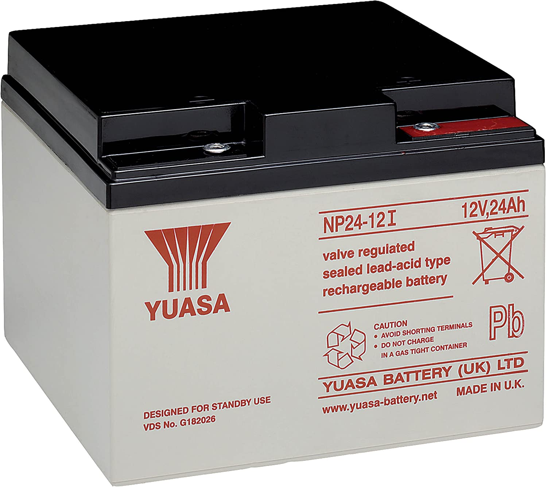 Yuasa NP24-12I - Batería recargable de plomo 12 V