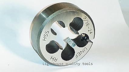 Lighthouse quality tools M14X1 RH HSS Adjustable Round Threading Die