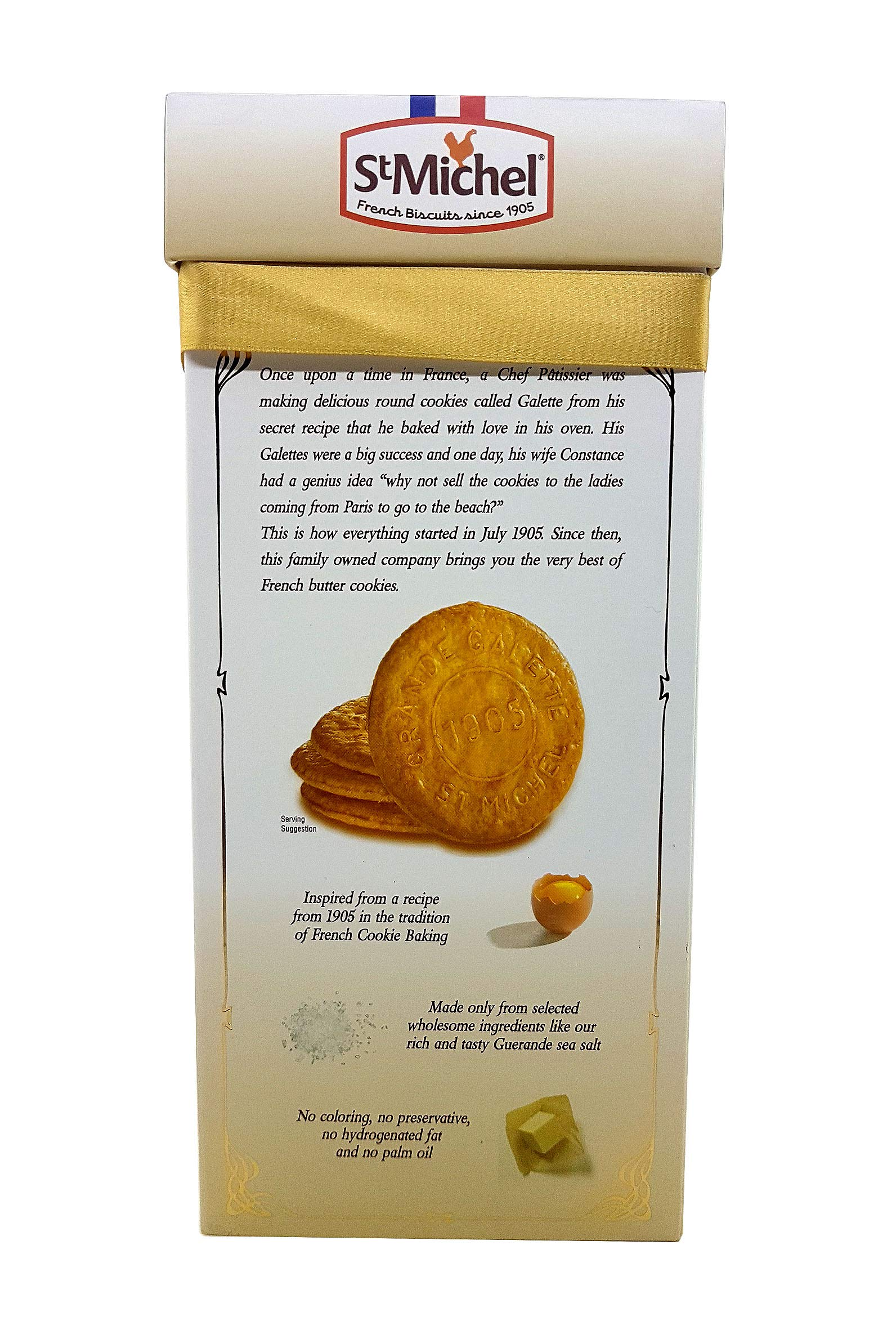 St Michel La Grande Galette French Butter Cookies Biscuits 1.3 LB (Pack of 2) by St Michel (Image #4)