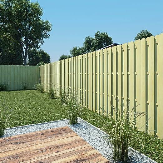 tidyard Panel de Valla Vallas para Jardin Tiras de Protectora de ...