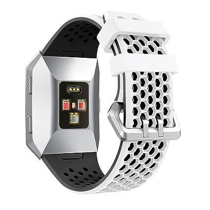 YaYuu Fitbit Ionic Correa de Reloj, Banda de Reemplazo Silicona Suave Sports Pulsera para Fitbit Ionic Smart Watch