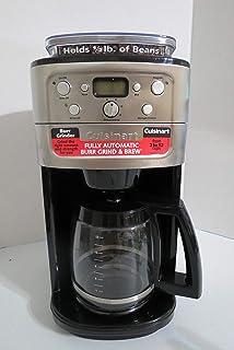 Amazon.com: Cuisinart Cafetera automática, Plateado/Negro ...