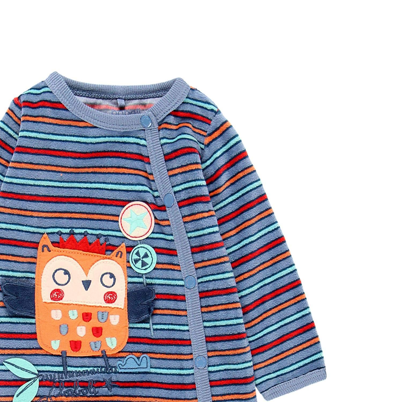 Boboli Baby Jungen Coloured Winter Nicky Strampler