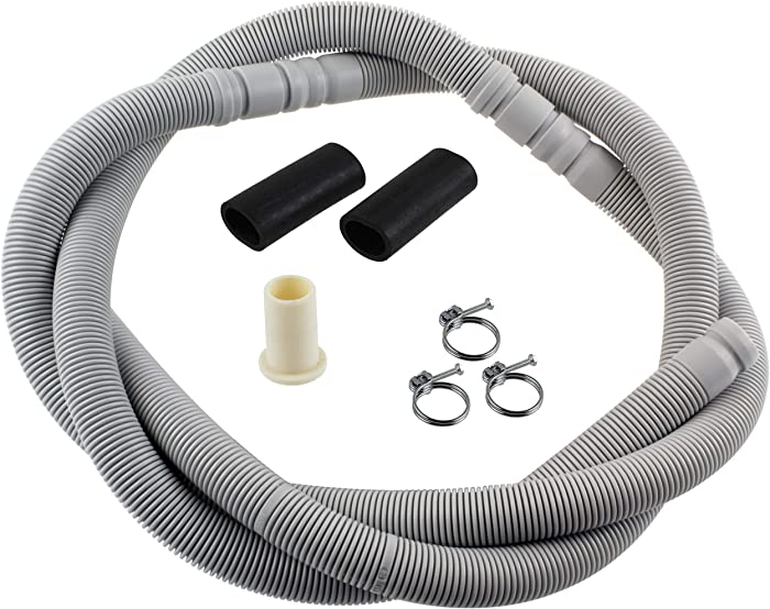 Supplying Demand 00663105 Dishwasher Drain Hose Extension Compatible With Bosch Fits 11030046, 663105