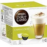 Nestle - Cafe Capuccino Dolce Gusto 12074617, 3 x 16 Capsulas.
