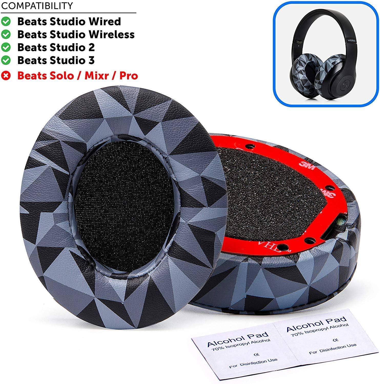 Almohadillas Repuesto Beats Solo 2/3 Wireless On-ear (xam)