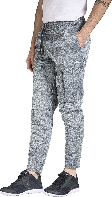 Essentials Pantal/ón de Forro Polar con Parte Inferior Cerrada Athletic-Sweatpants Hombre
