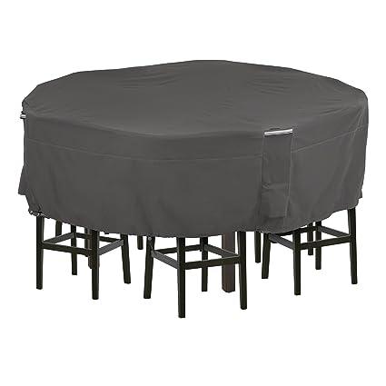 Amazon Com Classic Accessories Ravenna Tall Round Patio Table