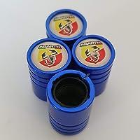 Speed Demons MG Blue Plastic Valve Dust Caps Non Stick for all models