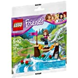 LEGO 乐高 Girls 女孩系列 冒险营地的小桥 30398 拼砌包