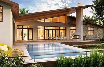 COOLWEST PAR56 Luces de la piscina LED 36W Blanco 6000K Iluminación de piscinas 12V AC/DC Reemplazar bombillas halógenas de 300W, Luminarias subacuáticas IP68 impermeables: Amazon.es: Jardín