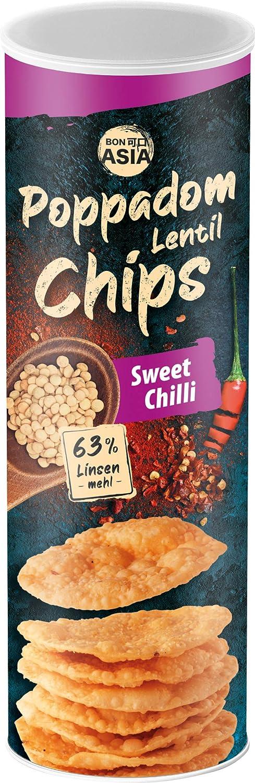 Bonasia Chips Poppadom Sweet Chili, Elaborados con Harina de ...