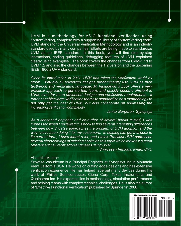 Practical uvm srivatsa vasudevan 9780997789607 amazon books fandeluxe Image collections