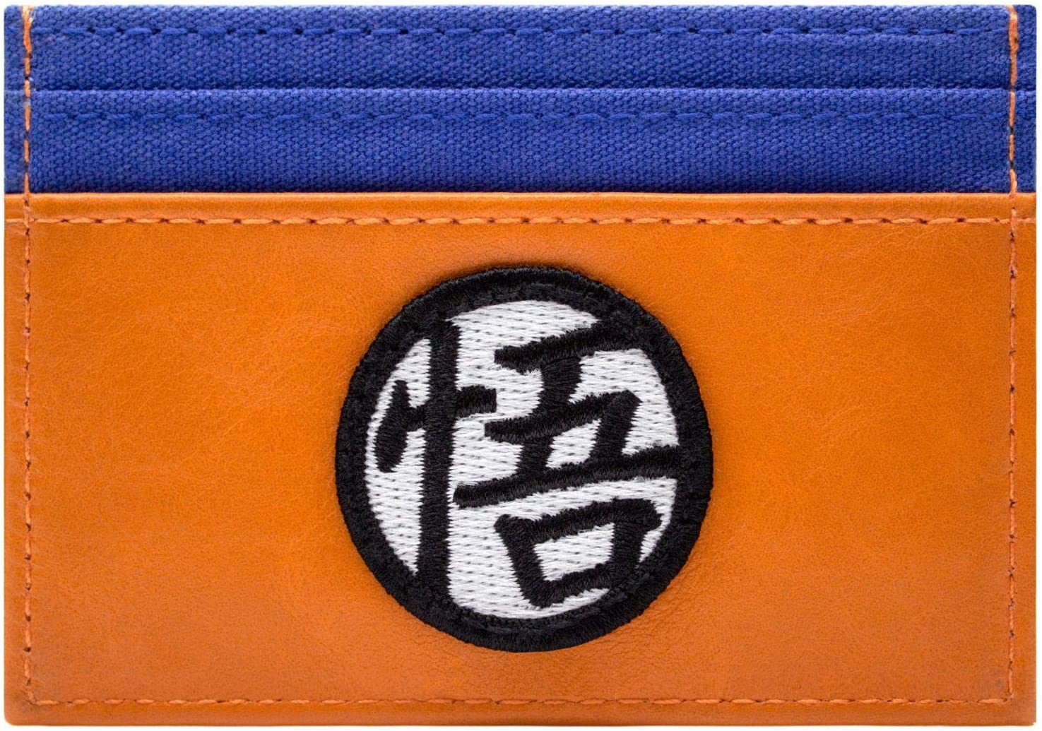Dragon Ball Z Gokus Sagesse Kanji Portefeuille Orange