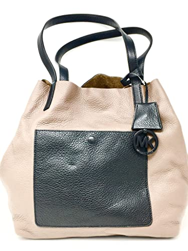 48324ed0b4a6 MICHAEL MICHAEL KORS COLGATE XL PEBBLED Grab Bag Shoulde Tote ...
