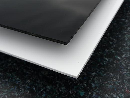 3 opinioni per Lastre Plexiglas® 1000 x 500 x 3 mm nero piastra acrilico alt-intech®