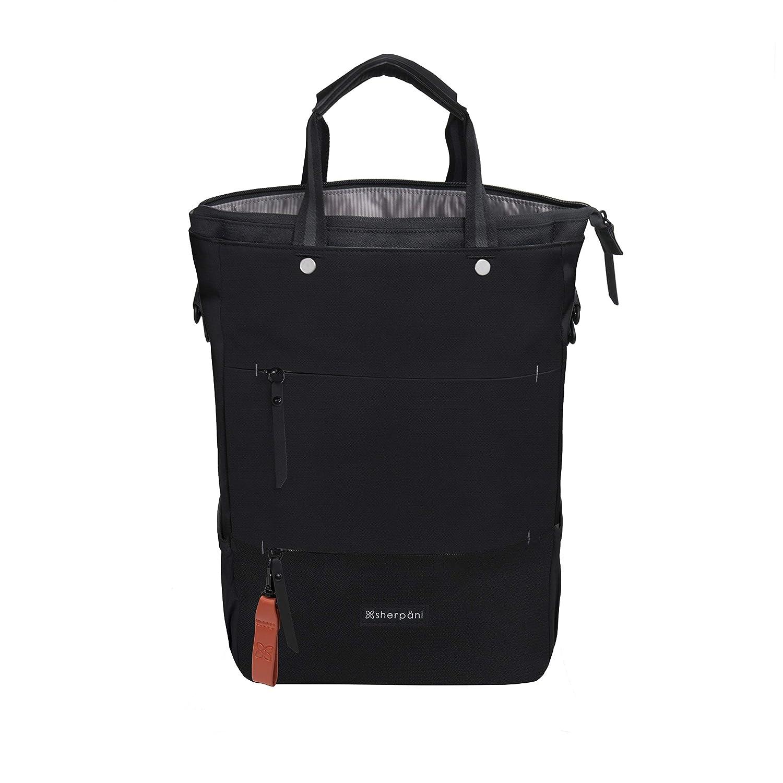 bae31a8f3a Amazon.com: Sherpani Camden Raven Laptop Backpack, Raven: Sherpani