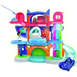 PJ MASKS Deluxe Headquarter Playset - brown mailer