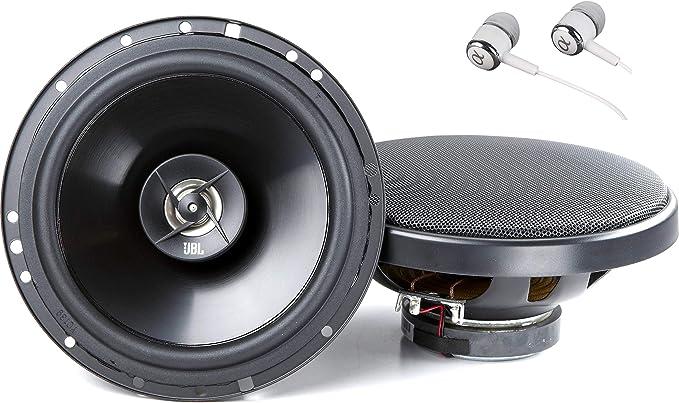 Black Pair JBL Car GX602 180W 6-1//2 Inch Coaxial In-Car Audio Loudspeaker