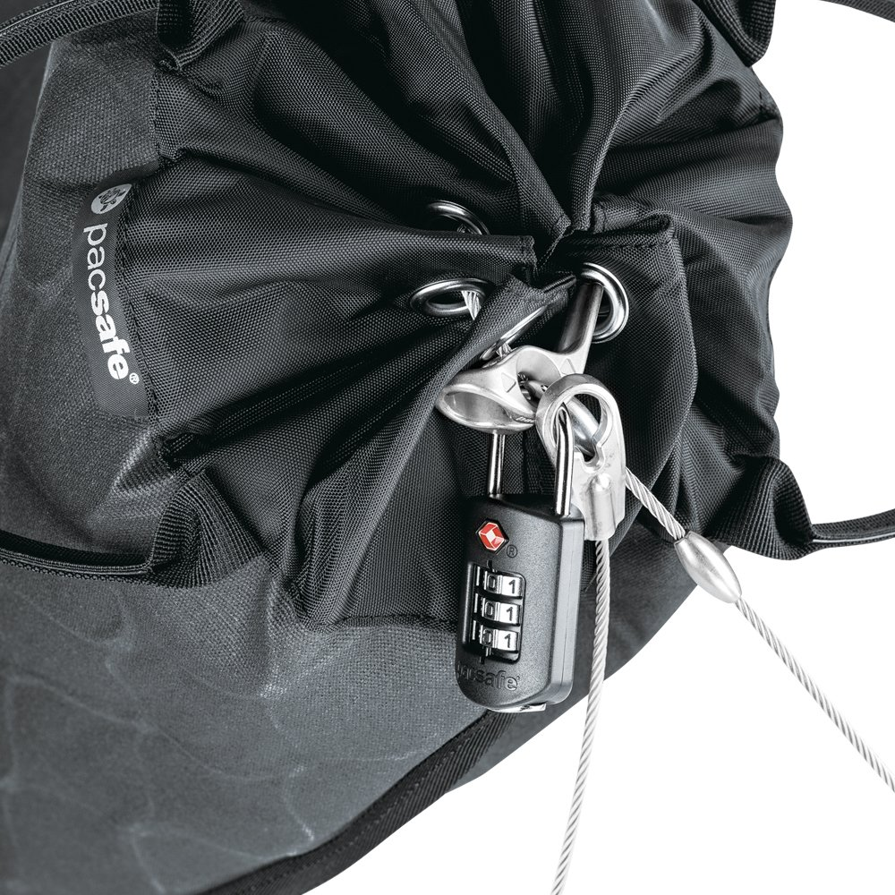 Pacsafe Travelsafe 12L GII Portable Safe, Charcoal by Pacsafe (Image #8)