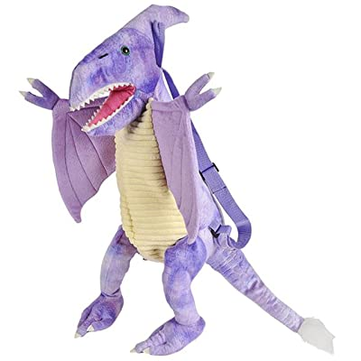 Plush Dinosaur Childrens Travel and Adventure Toys Toddler Backpack Bag for Boys and Girls - Pteranodon | Kids' Backpacks